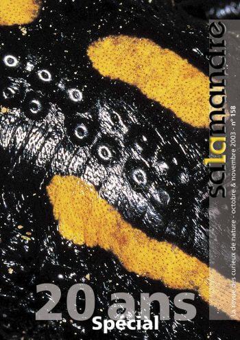 Couverture de La Salamandre n°158