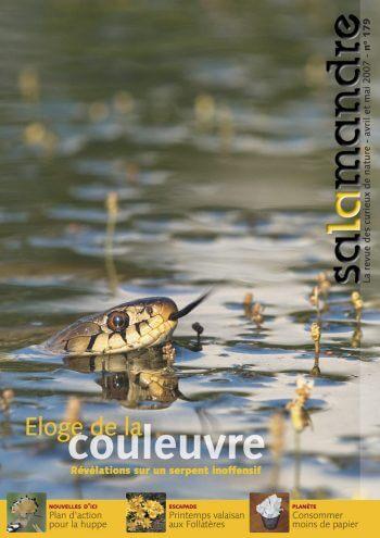 Couverture de La Salamandre n°179