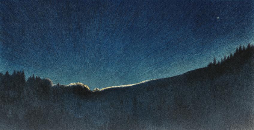 Le renard, la nuit et Jacques Rime