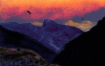 Le vespertilion (ou sérotine) vit dans les régions froides et en altitude.