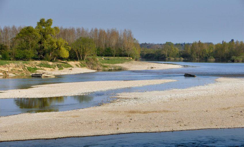 La rivière Doubs en liberté