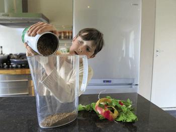 Fabriquez un lombricomposteur pour composter vos déchets organiques