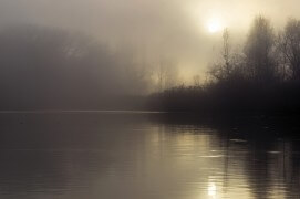 Le soleil perce enfin la brume. / © Benoît Renevey