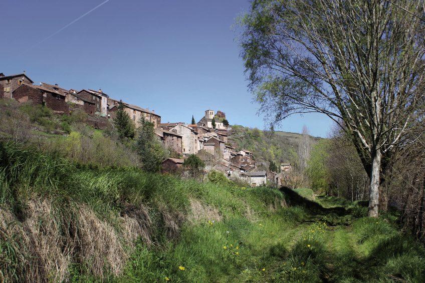 Balade à Combret en Aveyron