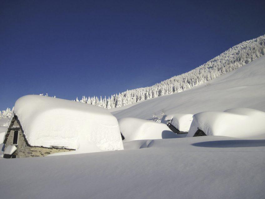 Beaucoup de neige malgré le réchauffement climatique