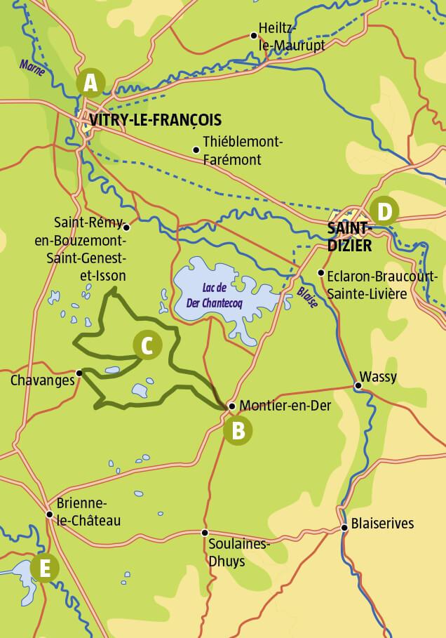 Escapade hivernale au lac du Der en Champagne-Ardennes