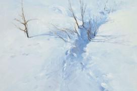 Il arrive que les bêtes se cachent si bien qu'on ne les voit plus. Que reste-t-il? Des petits riens. Un nuage, une branche, un creux dans la neige, peut-être aussi précieux si on les regarde bien qu'un oiseau dans le ciel. Eux aussi sont sauvages. Eux aussi peuvent nous toucher au cœur.E.A. / © Eric Alibert
