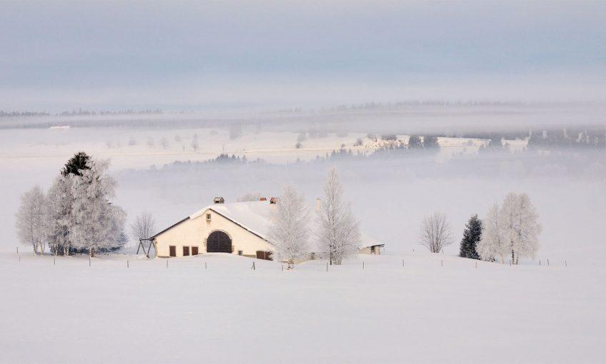 La Brévine en hiver