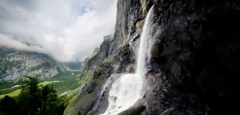 Le Kander, une rivière sauvage, chute…