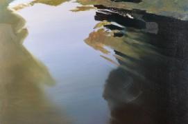 Ru,huile sur toile / © Dominique Abraham