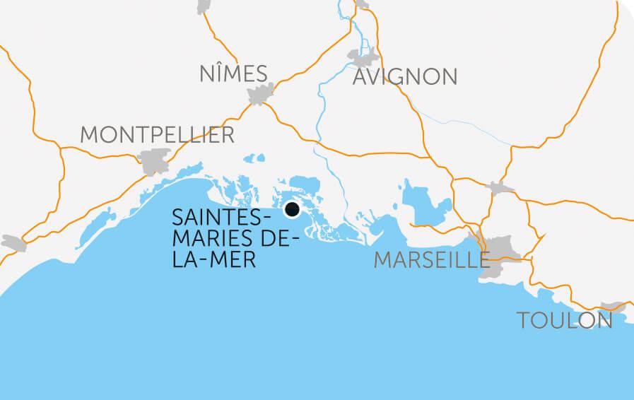 Balade en camargue dans le vent et les pieds dans l 39 eau - Office tourisme saintes maries de la mer ...