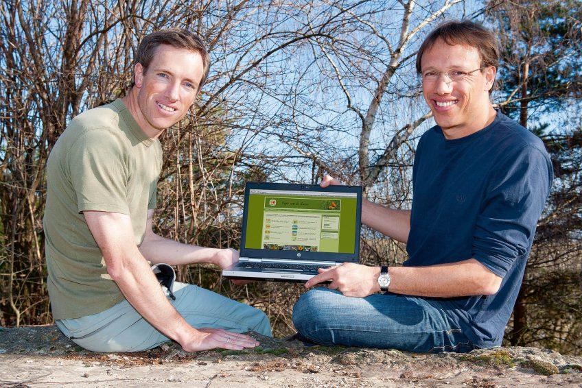Vincent (à gauche) et Michel Baudraz