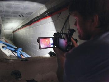 Utilisation d'une caméra thermique