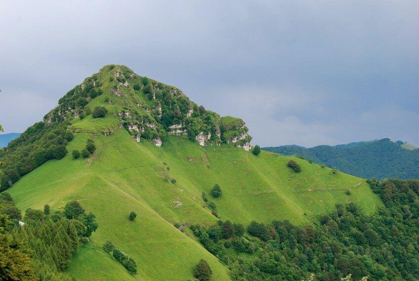 Le Sasso Gordona (1410 m)