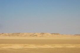 Les milans noirs profitent des vents favorables pour traverser aussi vite que possible le désert. / © Jérôme Gremaud