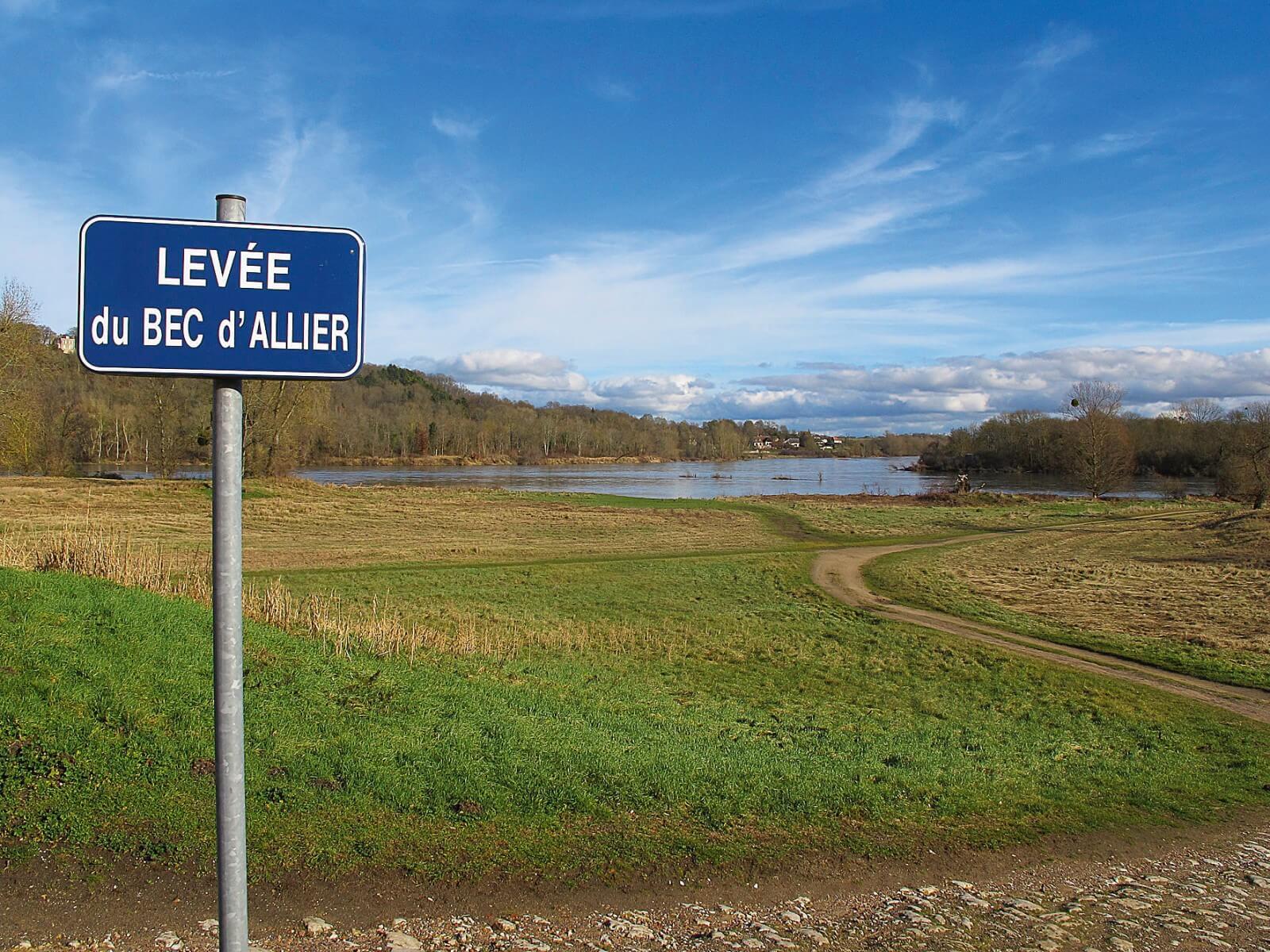 Balade au Bec d Allier La Salamandre