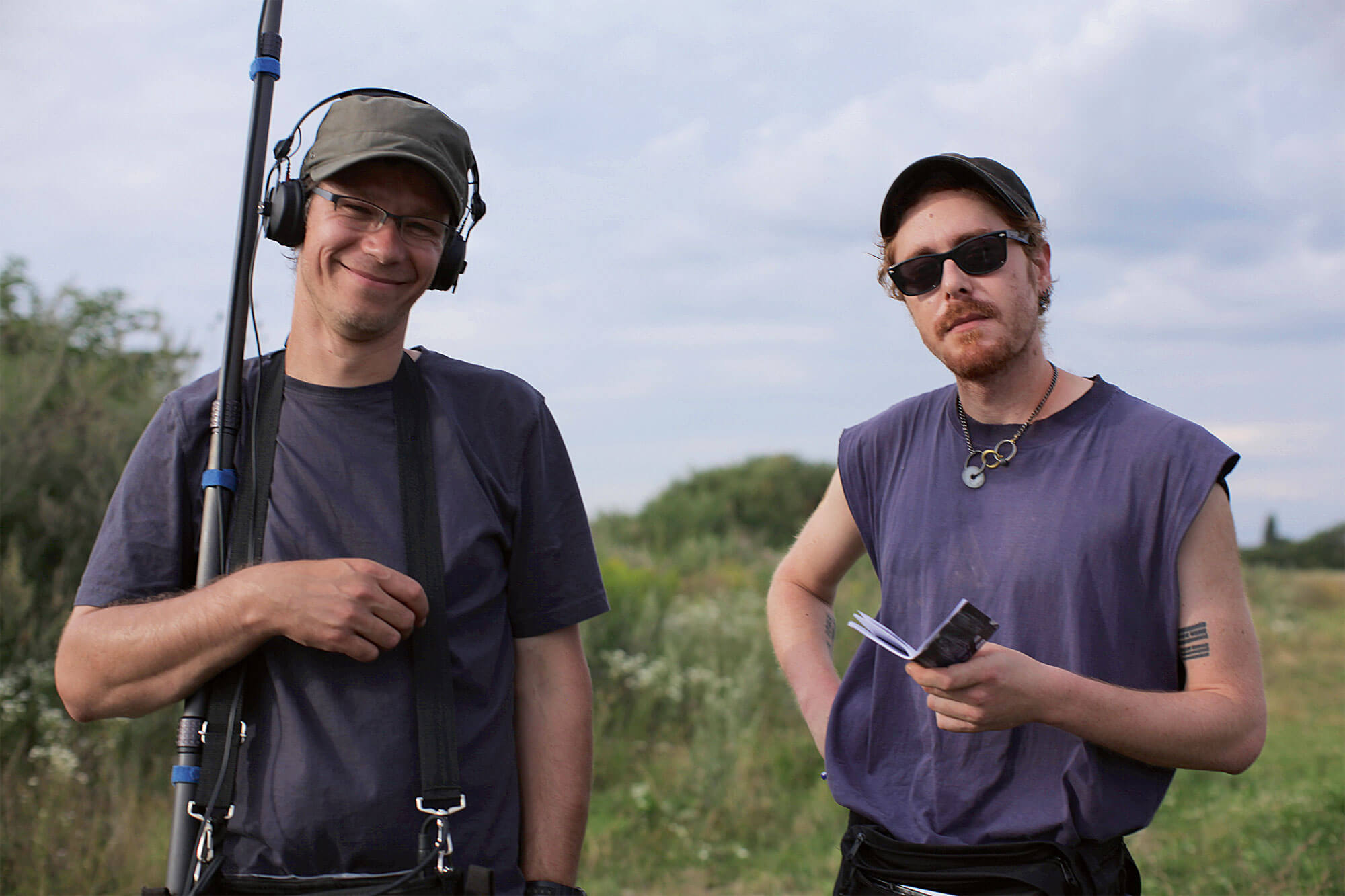 Philippe Grand (à gauche) et Jean Reusser