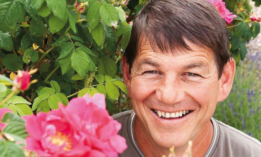 Alain Tschanz rosiériste