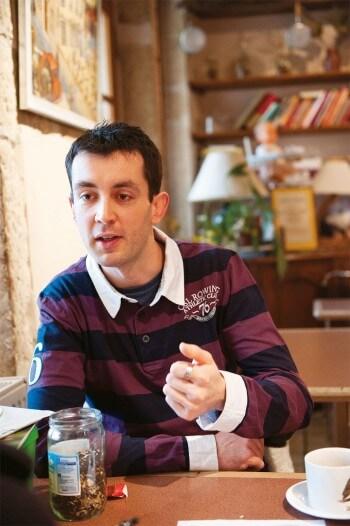 Michaël Falkowski, amoureux des mauvaises herbes