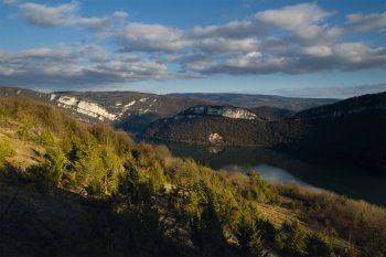 Vue sur les falaises de Chancia…