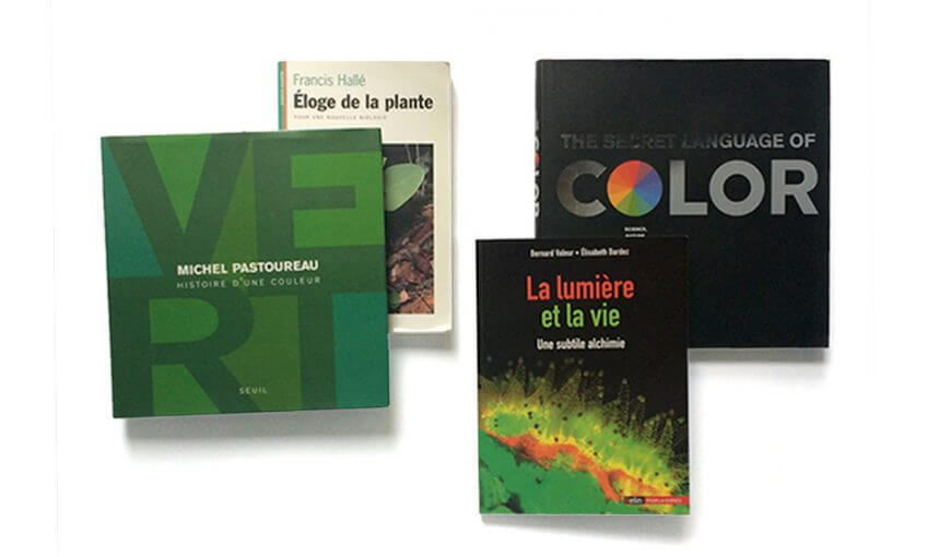 livres sur le vert