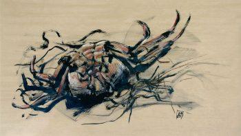 Crabe - Encre de Chine et…