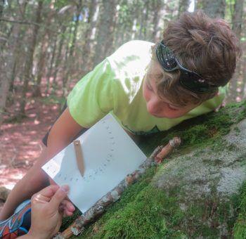 Bricolez un outil pour mesurer la pente d'une montagne