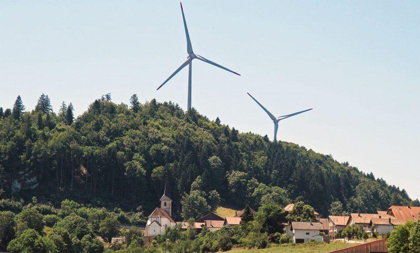L'impact des éoliennes sur la nature