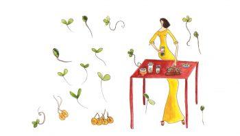 Les graines germées sont un pilier d'une alimentation saine et vivante.