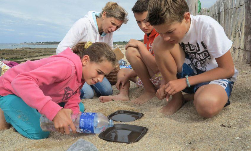 Sel : fabriquez-en vous même à la plage avec l'énergie du soleil