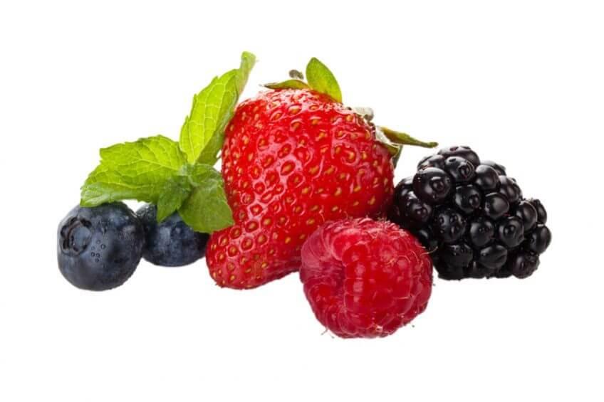 Aromatisez vos glaçons avec les fruits de l'été