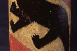 Bouclier aux armoiries bernoises datant du XVe siècle. / © Bernisches Historisches Museum