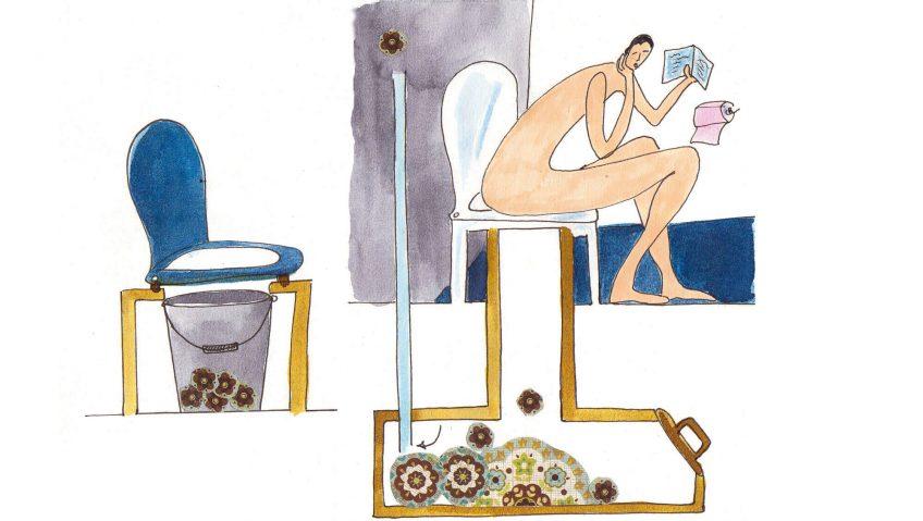 Voici venu le temps des toilettes sèches !