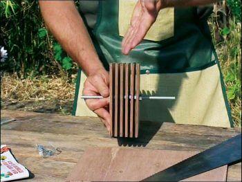 Construisez un abri hivernal pour les coccinelles de votre jardin
