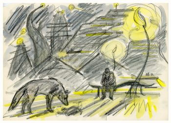 dessin-kuwabara-loup