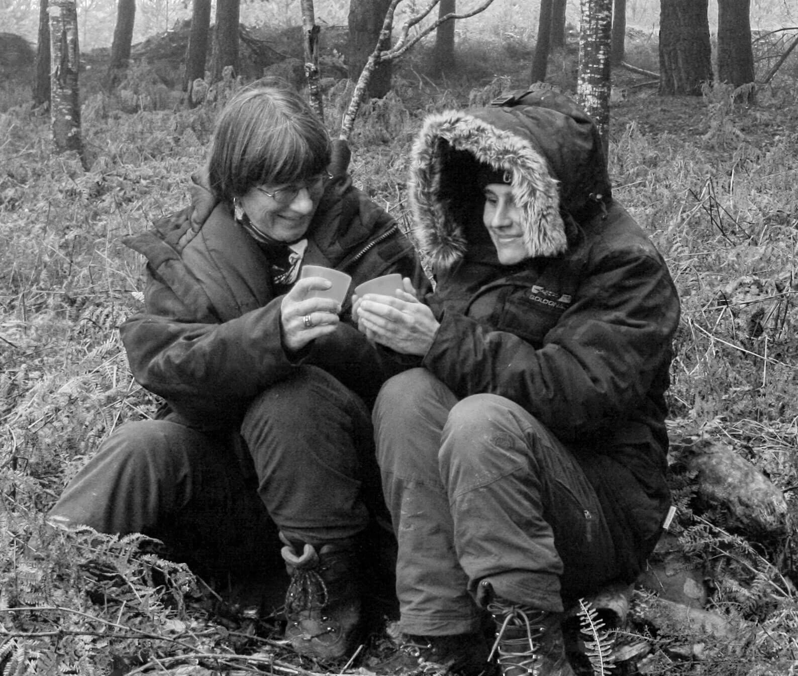 Nuit blanche à l'affût des castors - La Salamandre Patricia Huguenin Audrey Margand