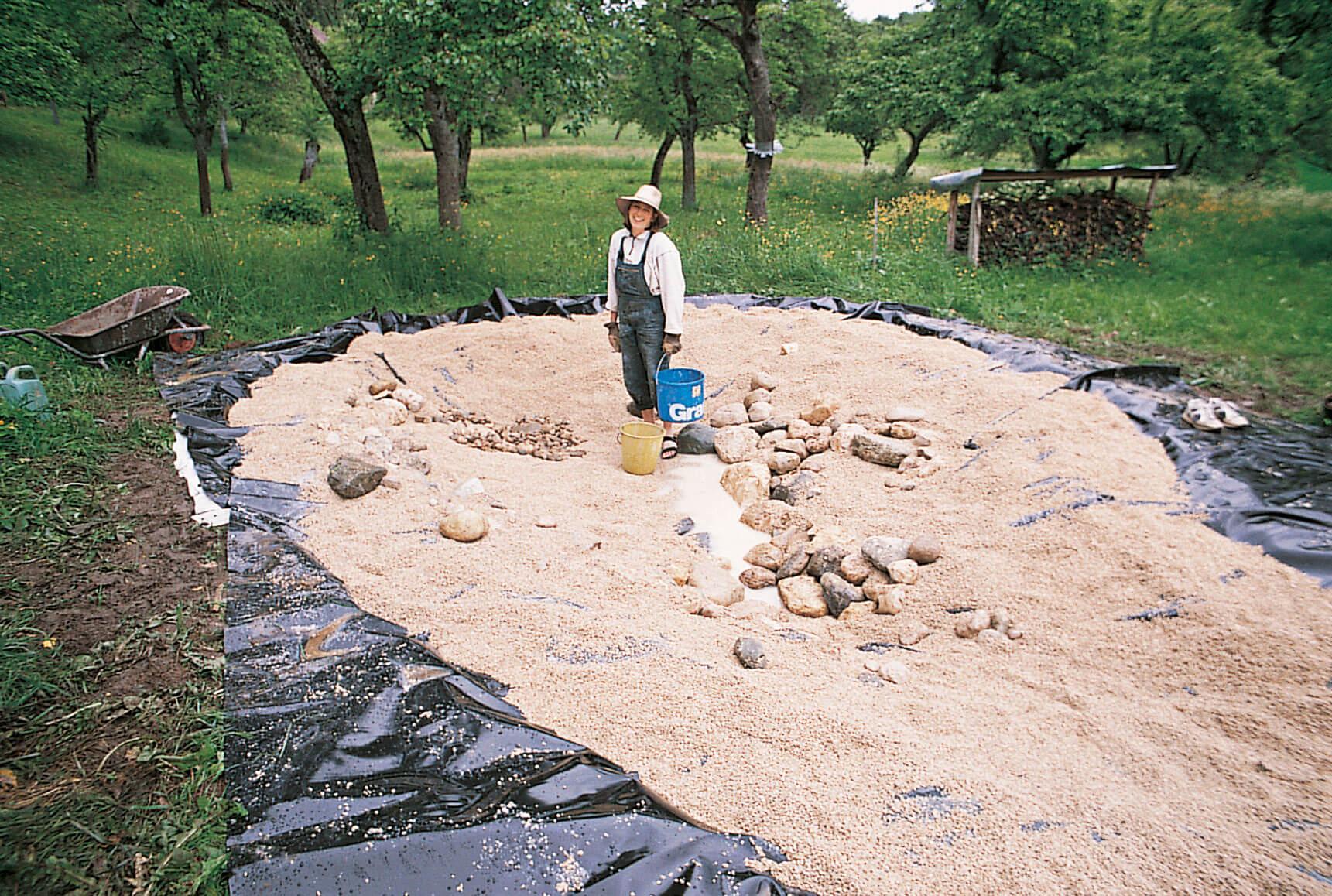 1998 mare étang argile, sable, gravier ou cailloux fond
