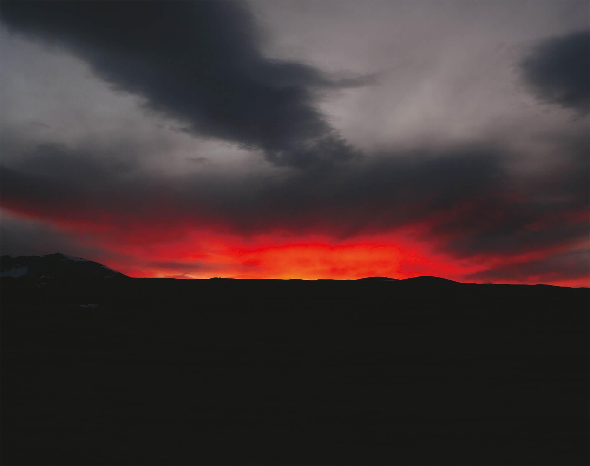 Ciel rouge photo
