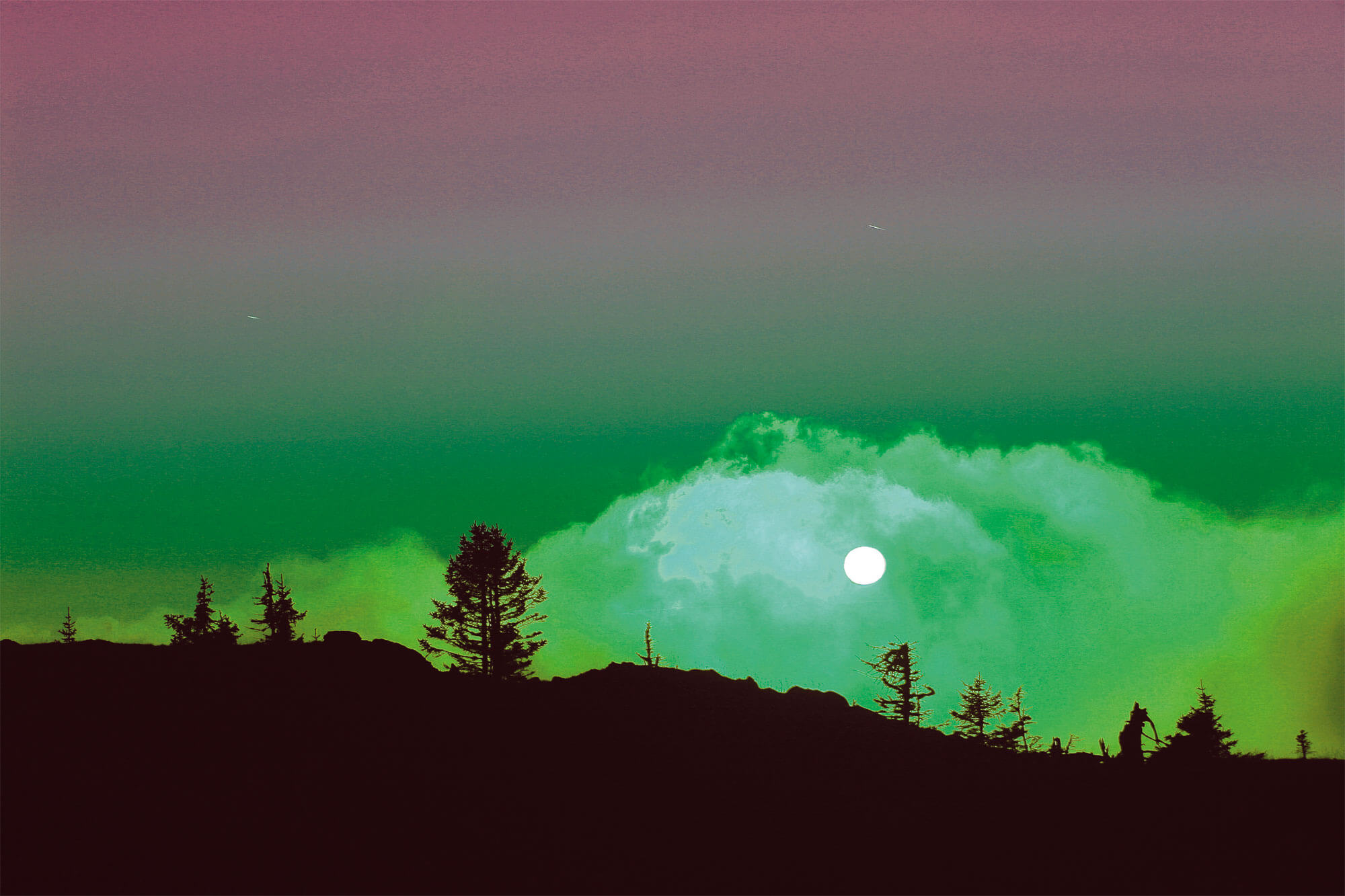 paysage la perception des couleurs