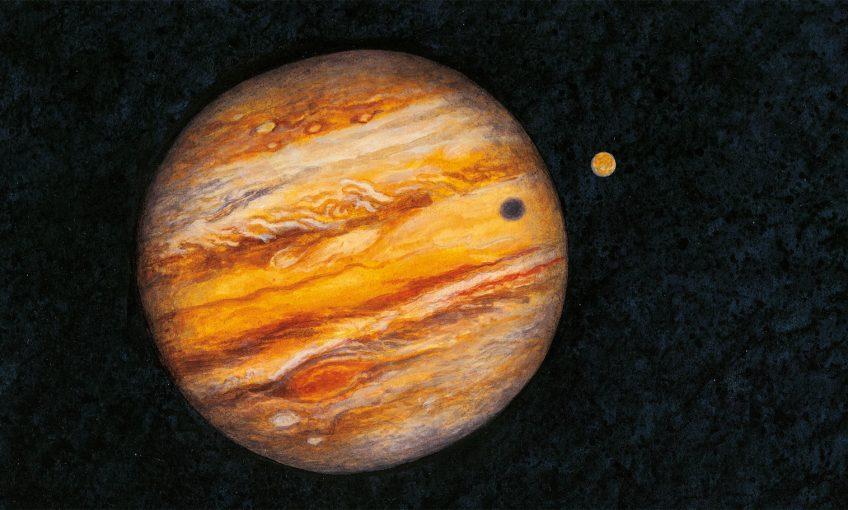 dessin jupiter planète