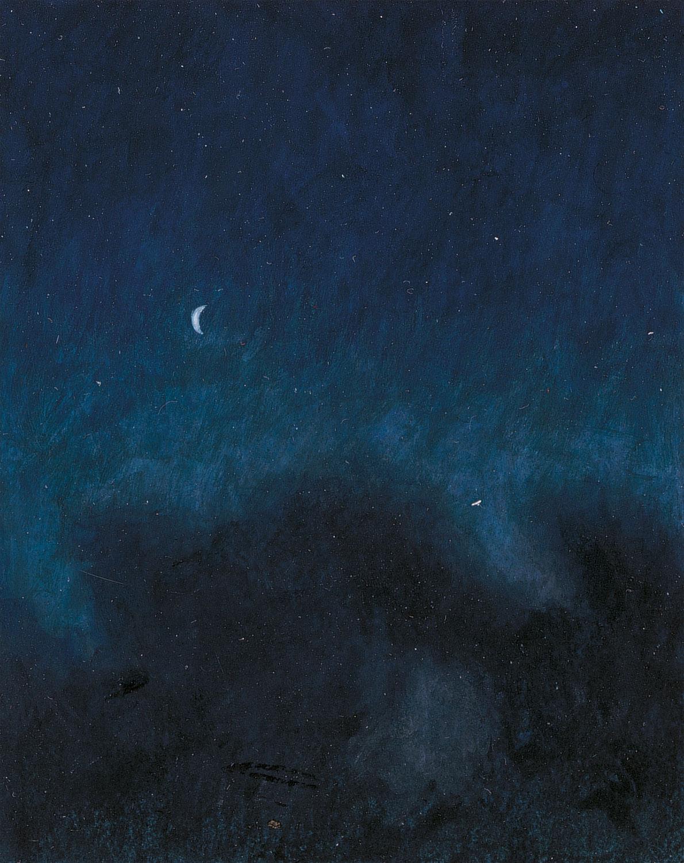 L'étoile du berger dessin nuit