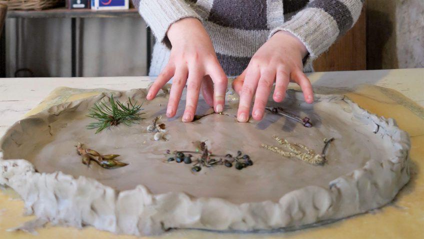 Comment moulez les bourgeons - La Salamandre mouler bourgeons bricolage nature argile