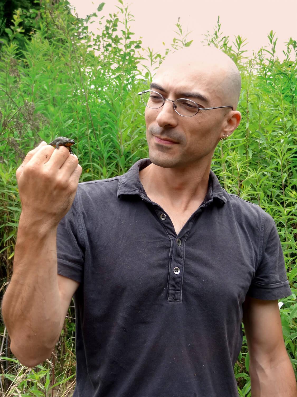 Ils se mouillent pour les grenouilles - La Salamandre Jean-Pierre Vacher grenouille