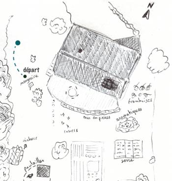 Renard amoureux étape 2 Mon voyage au jardin - La Salamandre