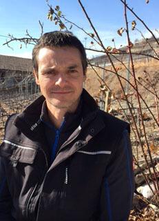 Etienne Bétrisey De la vie dans mes vignes - La Salamandre portrait