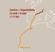Deuxième étape d'un voyage en suivant les oiseaux migrateurs - La Salamandre carte