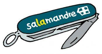 Bien préparer mon premier affût à chevreuil - La Salamandre dessin couteau suisse