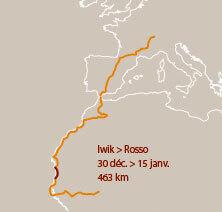 Sixième étape d'un voyage en suivant les oiseaux migrateurs - La Salamandre carte