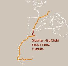 Quatrième étape d'un voyage en suivant les oiseaux migrateurs - La Salamandre carte
