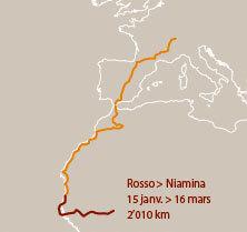 Septième étape d'un voyage en suivant les oiseaux migrateurs - La Salamandre carte